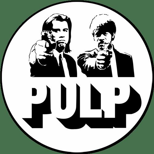 Aufkleber: Pulp