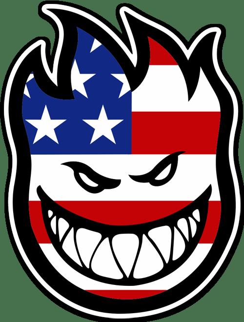 Aufkleber: Spitfire 1 Bandera USA