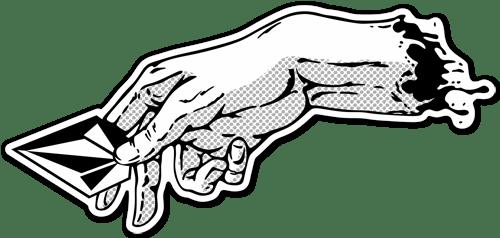 Aufkleber: Die Schöpfung Volcom