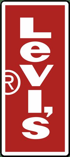 Aufkleber: Levis Vertical