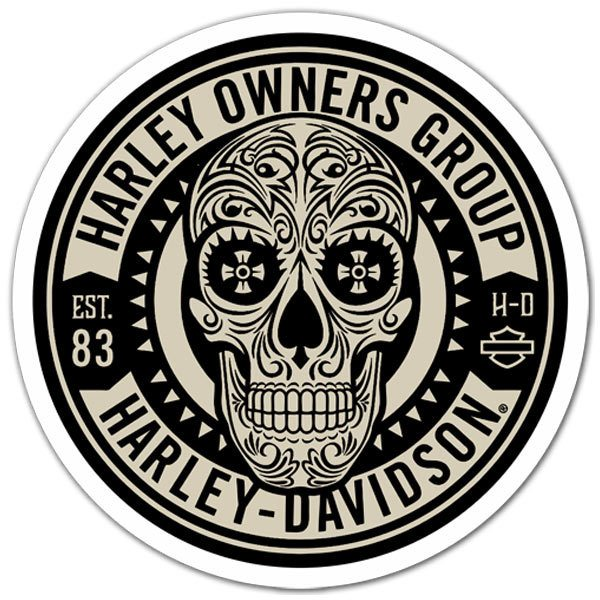 Aufkleber: Harley Owners Group