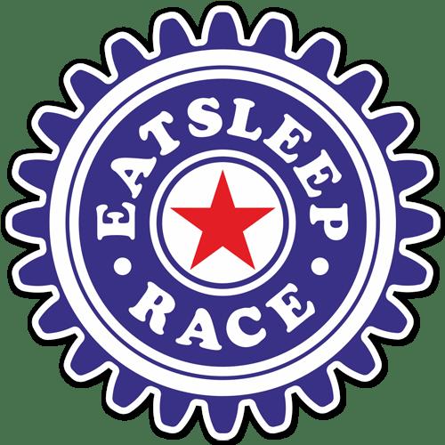 Aufkleber: Eat Sleep and Race