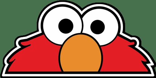Aufkleber: Elmo