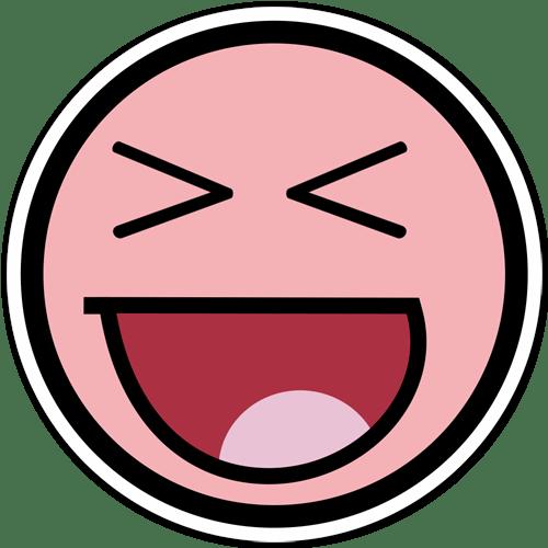 Aufkleber: Meme Smiley 2