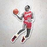 Aufkleber: Michael Jordan 1