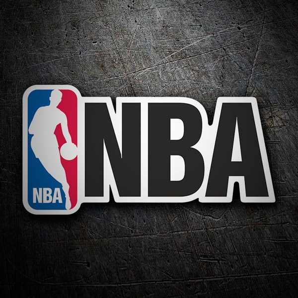 Aufkleber: NBA (National Basketball Association)