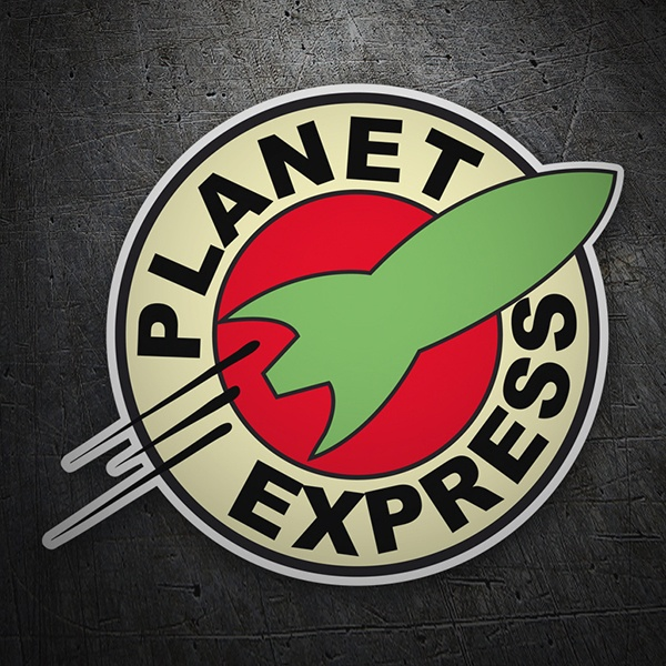 Aufkleber: Futurama Planet express