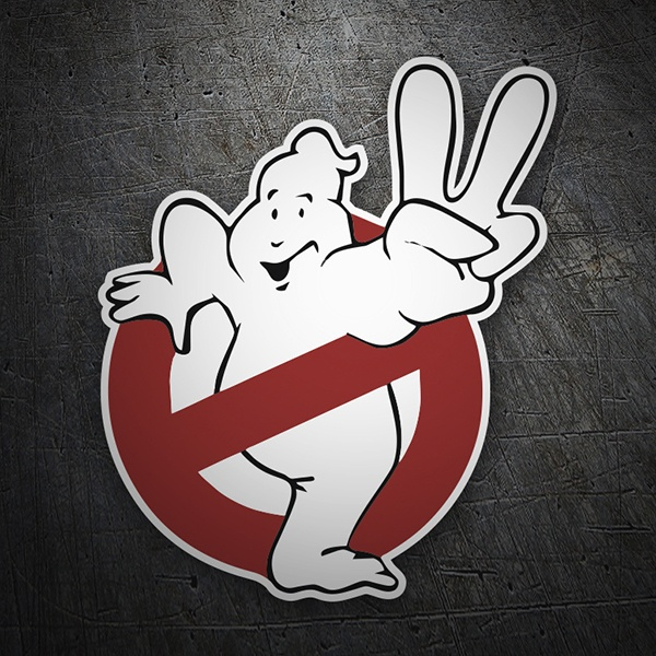 Aufkleber: Ghostbusters 2