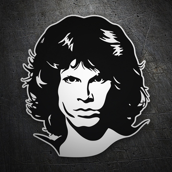 Aufkleber: Jim Morrison The Doors