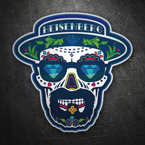 Aufkleber: Breaking Bad  Mexican Skull
