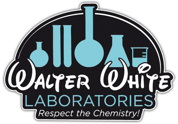 Aufkleber: Breaking Bad Walter Disney Laboratories 0