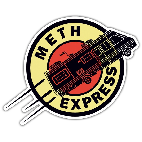Aufkleber: Breaking Bad Express