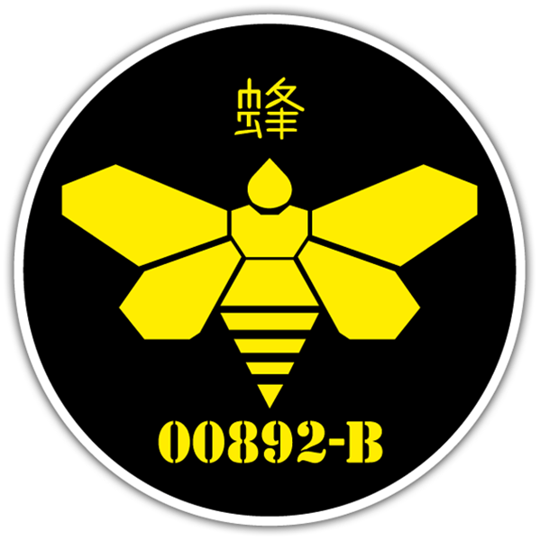 Aufkleber: Breaking Bad Japan Bee