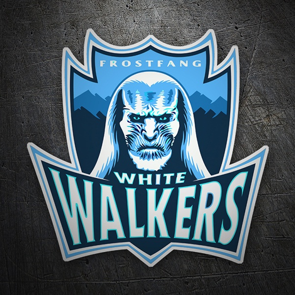 Aufkleber: Game of Thrones White Walkers
