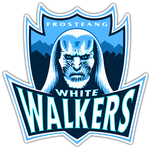 Aufkleber: Game of Thrones White Walkers 0