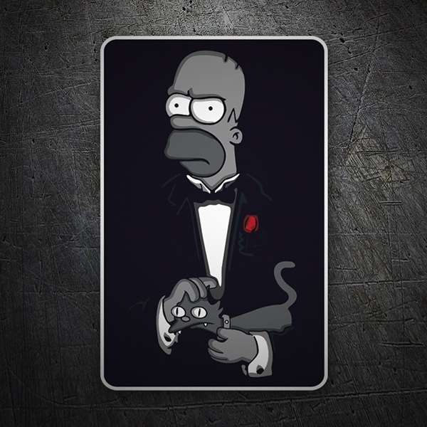 Aufkleber: The Godfather Homer