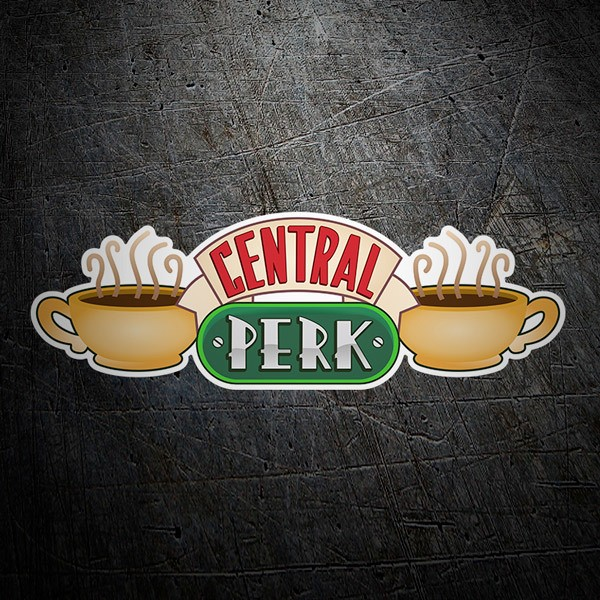 Wandtattoos: Central Perk - Friends