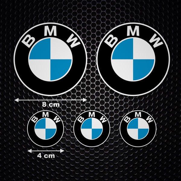 Aufkleber Set 5x Bmw Logo Webwandtattoo Com