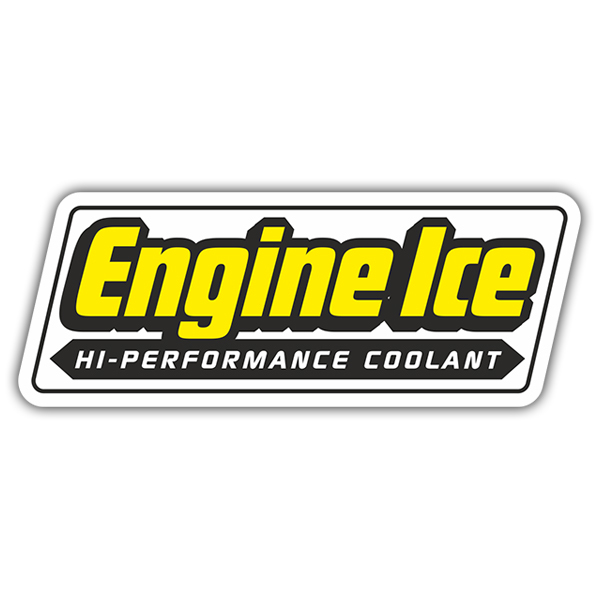 Aufkleber: Engine Ice