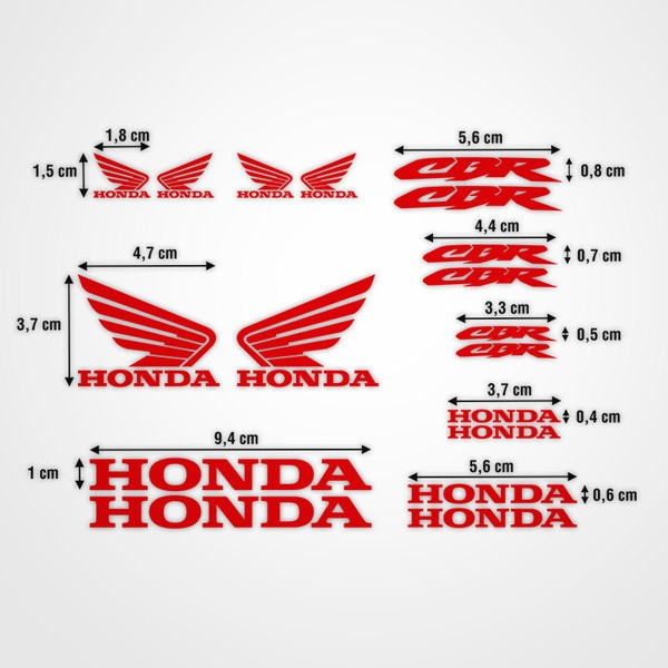 Aufkleber: Kit Honda CBR Racing