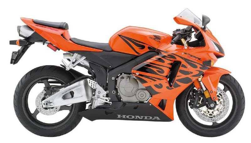 Aufkleber: Kit CBR 600 RR Flaming 3