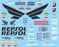 Aufkleber: Kit Honda CBR Repsol Racing 4