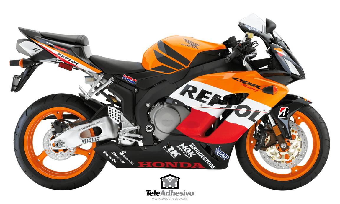 Aufkleber: Kit Honda CBR Repsol Racing
