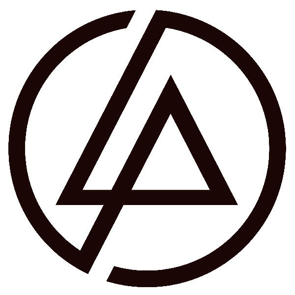 Aufkleber linkin park logo for Braune klebefolie