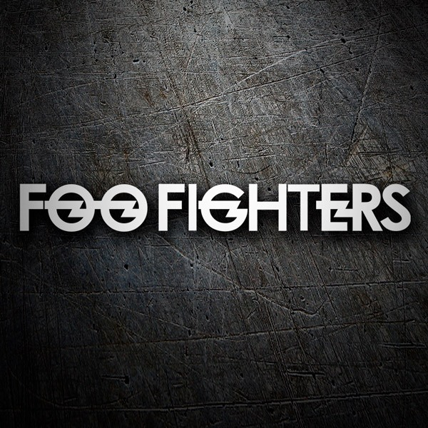 Aufkleber: Foo Fighters