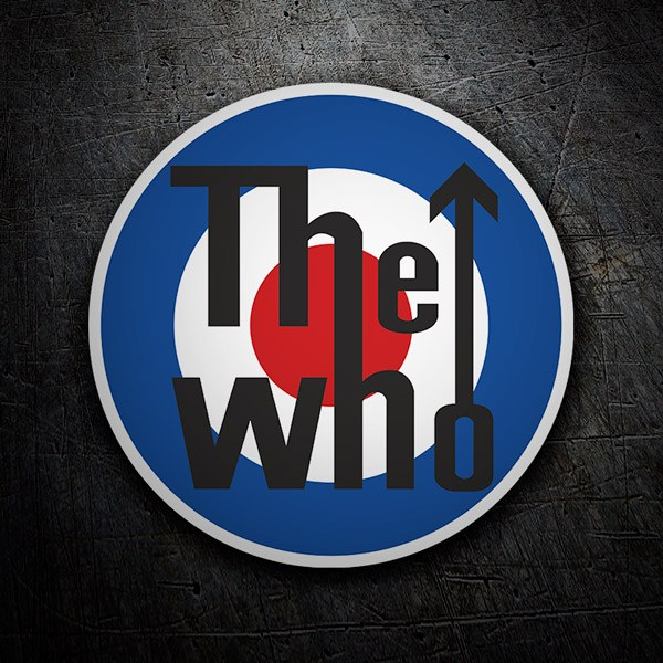 Aufkleber: The Who logo