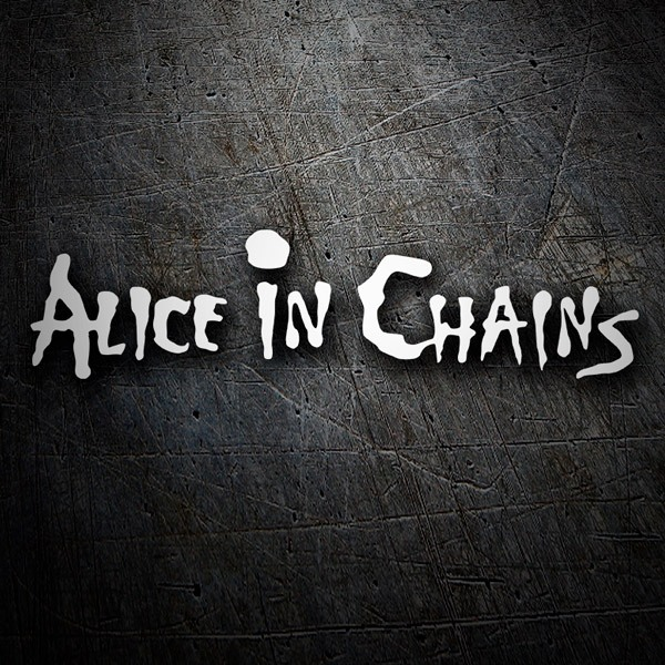 Aufkleber: Alice in Chains