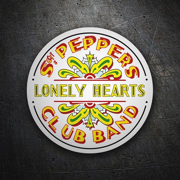 Aufkleber: Sgt. Pepper's Lonely Hearts Club Band