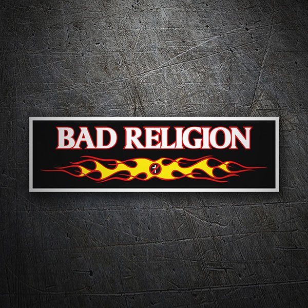 Aufkleber: Bad Religion Fire