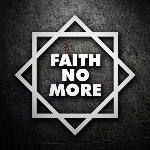 Aufkleber: Faith No More Classic