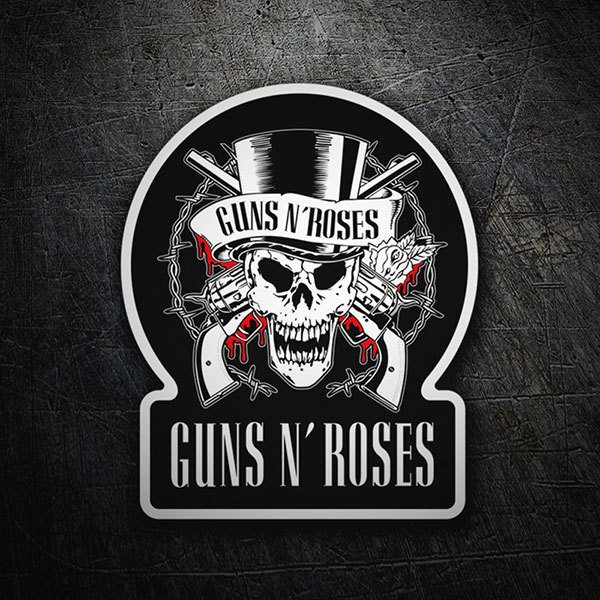 Aufkleber: Guns N' Roses Blood