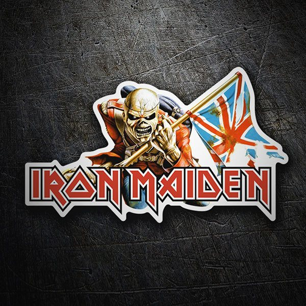Aufkleber: Iron Maiden - The Trooper