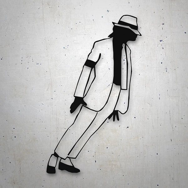 Aufkleber: Michael Jackson - Smooth Criminal
