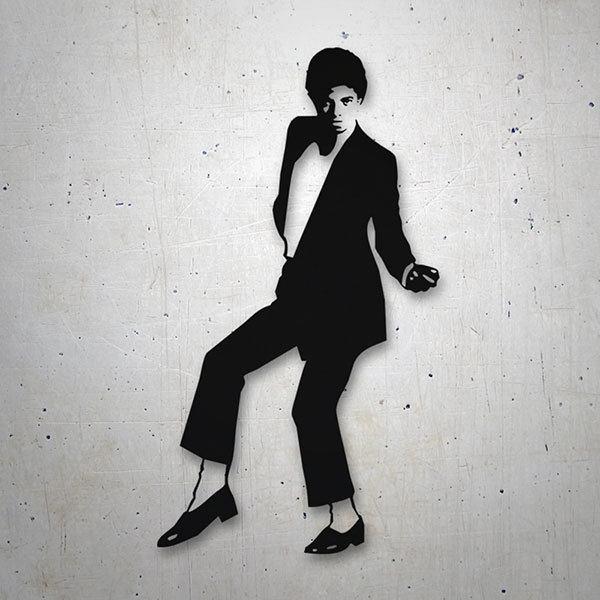 Aufkleber Michael Jackson Dont Stop Webwandtattoocom