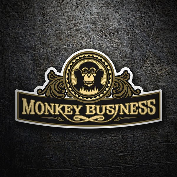 Aufkleber: The Black Eyed Peas - Monkey Business