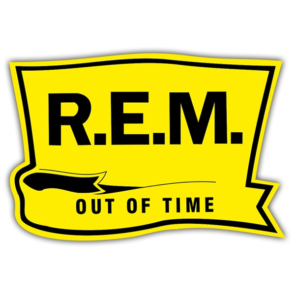 Aufkleber: R.E.M. - Out of Time