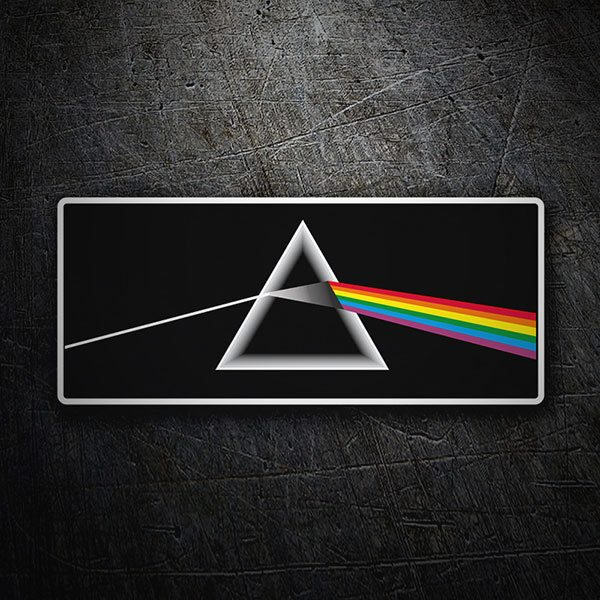 Aufkleber: Pink Floyd - The Dark Side of the Moon