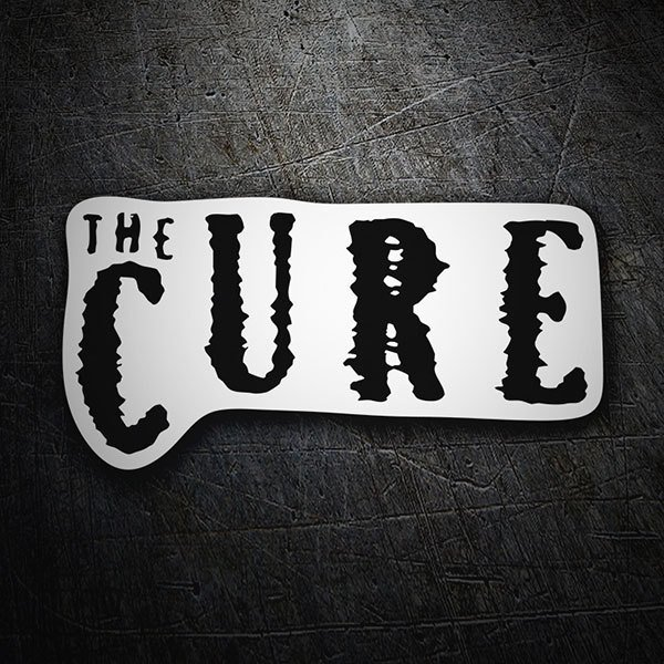 Aufkleber: The Cure