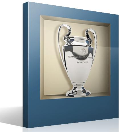 Wandtattoos: Nischen Champions League-Pokal