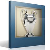 Wandtattoos: Nischen Champions League-Pokal 2