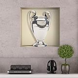 Wandtattoos: Nischen Champions League-Pokal 5
