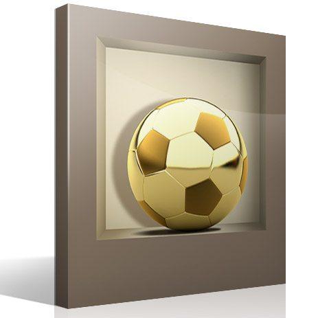 Wandtattoos: Nischen Golden Ball