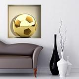 Wandtattoos: Nischen Golden Ball 5