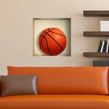 Wandtattoos: Nischen Basketball ball 3