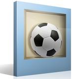 Wandtattoos: Nischen Fußball-Spielball 2