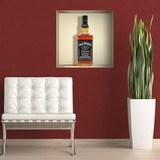 Wandtattoos: Nischen Flasche Jack Daniels 3